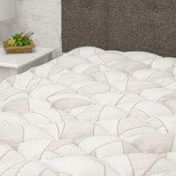 1.5''Copper Topper Plush Bed Cover Pillow Top Mattress Pad F