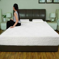 """10""""Cozy Traditional Firm Memory Foam Mattress Bed Full Size"""