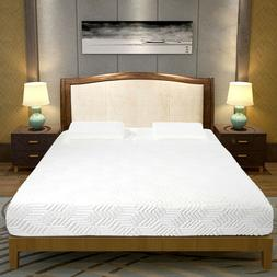 """10"""" Four-Layer COOL Medium Firm Memory Cotton Mattress with"""