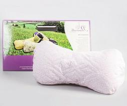 13 inch Buckwheat Pillow. Firm Neck Back Pain Relief Travel