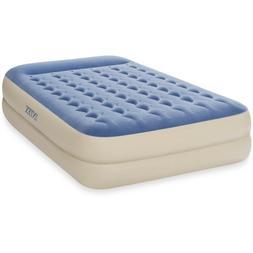 "18"" Raised Pillow Air Mattress Queen Dura-beam camping bed f"