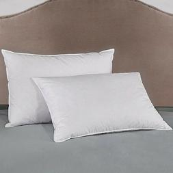 Peace Nest 2 Pack Firm White Goose Down Blend Bed Pillows fo