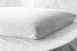 Elite Rest Ultra Slim Sleeper Memory Foam Pillow, Cotton Cov