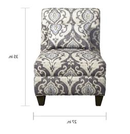 HomePop Accent Chair Living Room Furniture Arm Less Pillow S