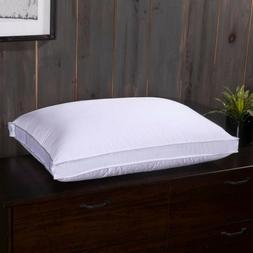 Adjustable Duck Down Pillow White 280 Cotton Shell Medium Fi