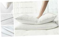 AIKOFUL Goose Down and Feather Pillow King Size Bed Pillow,