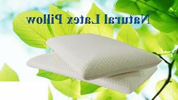 OrganicTextiles| All Natural Latex Pillow with Organic Cotto