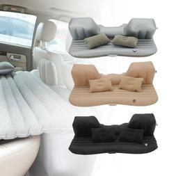 Car SUV Air Bed Sleep Travel Inflatable Mattress Seat Cushio