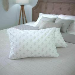 MyPillow Classic Pillow Standard/Queen Green Firm Open Box R