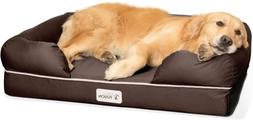 PetFusion Dog Bed Orthopedic Memory Foam Medium Firmness Pil