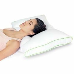 Dual Position Neck Design Hypoallergenic Cervical Pillow, Me