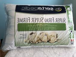 Sertapedic Extra Firm Jumbo Pillow - New
