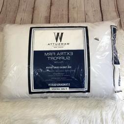 Wamsutta Extra Firm Support Pillow 300 Thread Count Sateen S