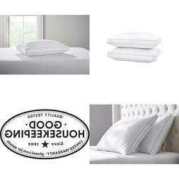 Firm Extra Firm Down Alternative King Pillow 100% Cotton Fab