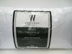 Wamsutta Firm Support Pillow 300 Thread Count Sateen King Si