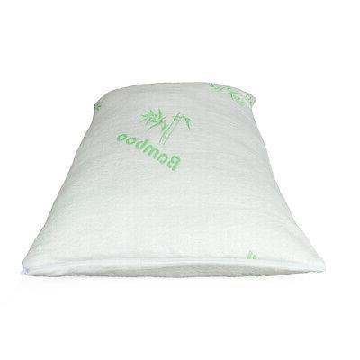 Premium Firm Hypoallergenic Bamboo Fiber Memory Foam Pillow