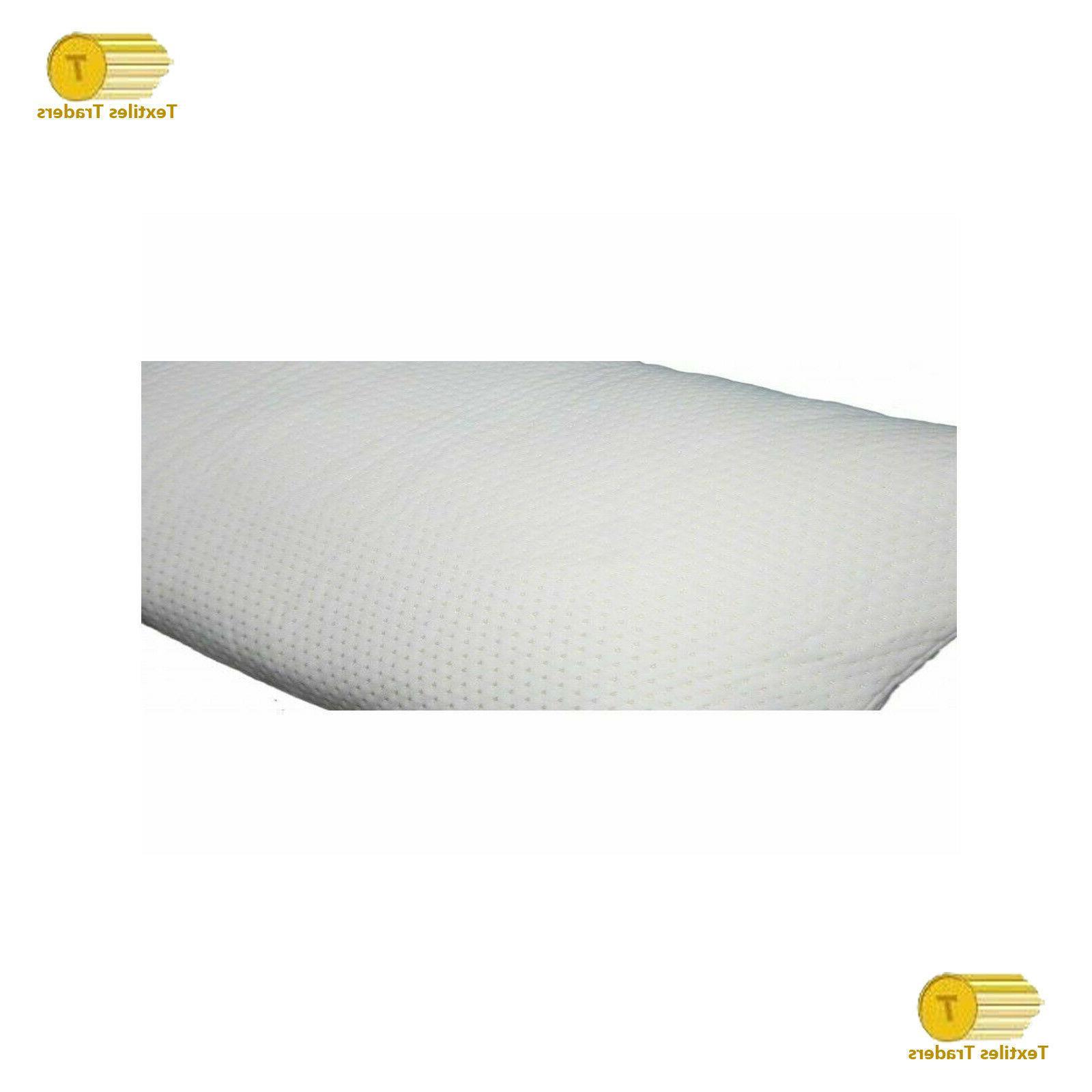 2 x Shredded Memory Pillow Firm Head Neck Pillow
