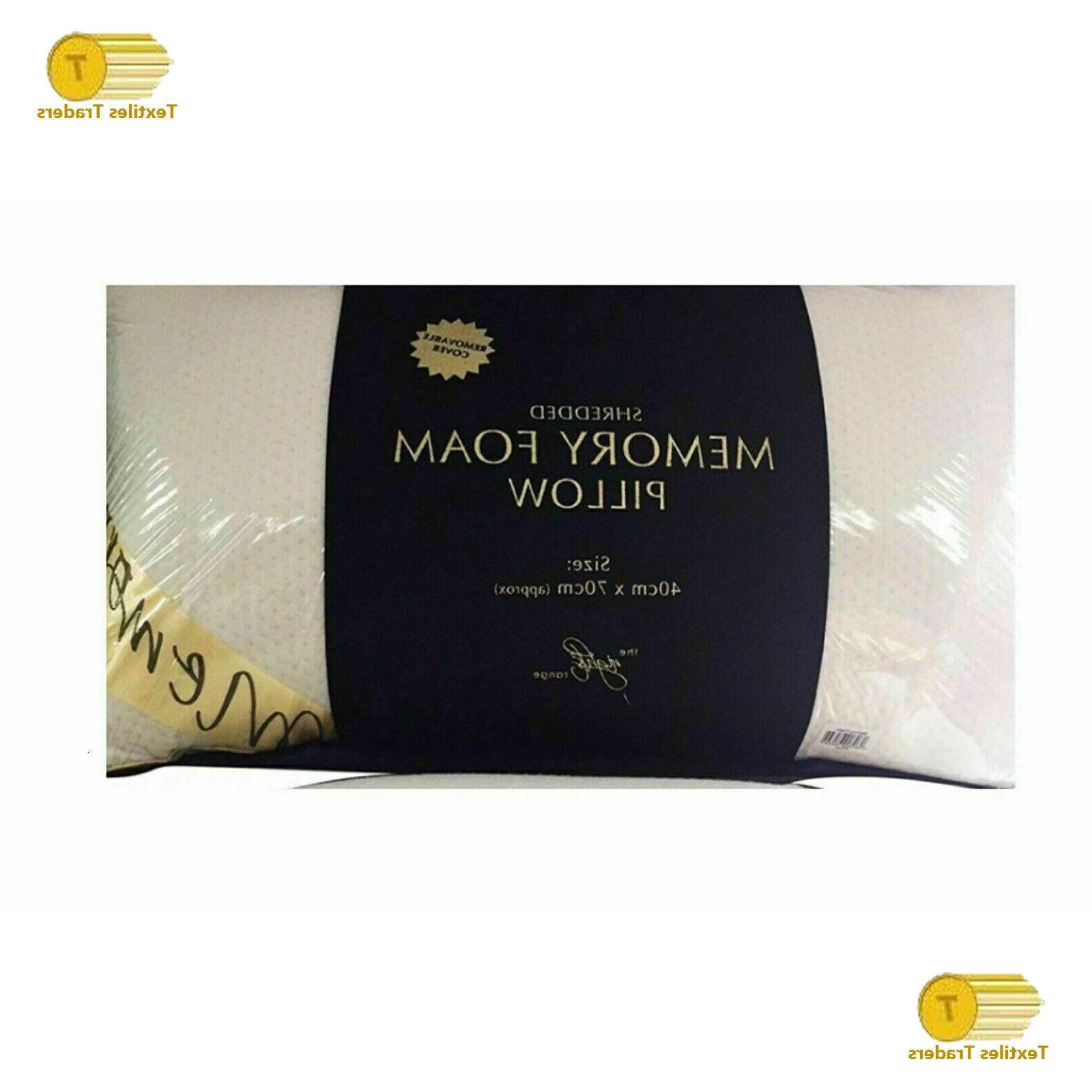 2 Luxury Memory Pillow Firm Head Pillow