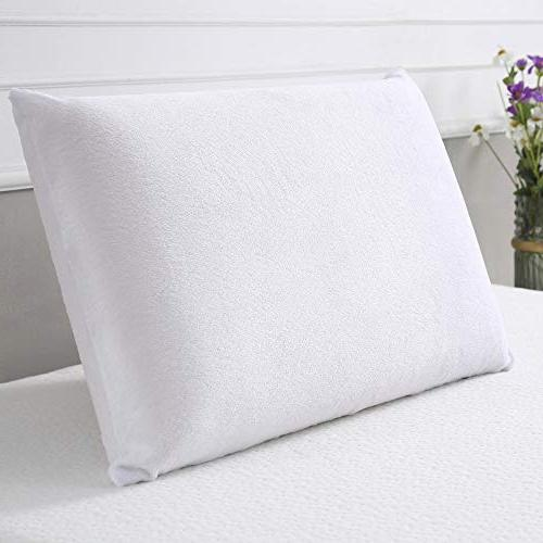 Classic Brands Ventilated Memory Cushion Firm Pillow, Queen