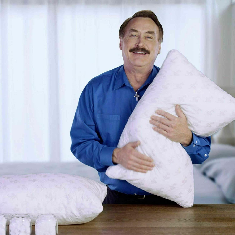 MyPillow Pillow Standard/Queen Green READ