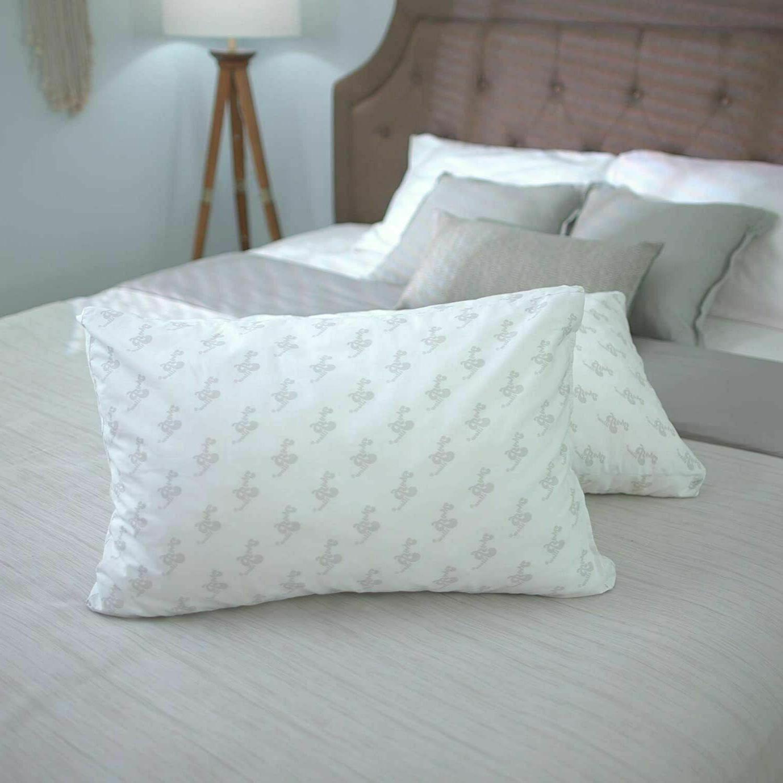 classic pillow standard queen green firm open