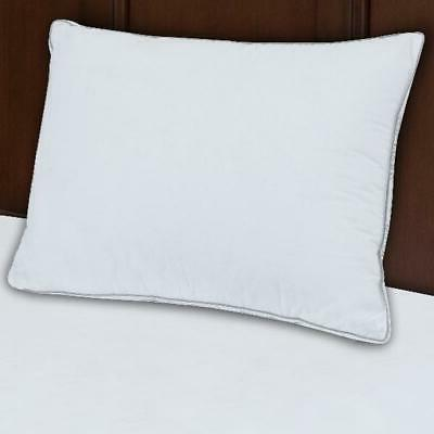 Extra Firm Bedroom Bed Pillow Home Comfort Sleep White Stand