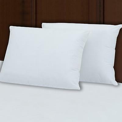 "Extra Super Firm Pillow KING SIZE Set/2 Bed Pillows 3"" Super"