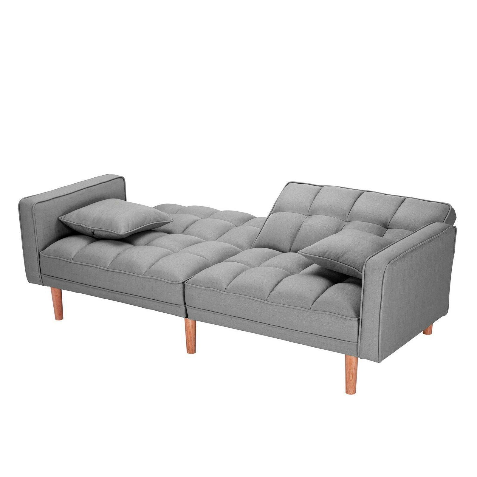 Modern Bed Pillows Folding Lounge Sofa USA