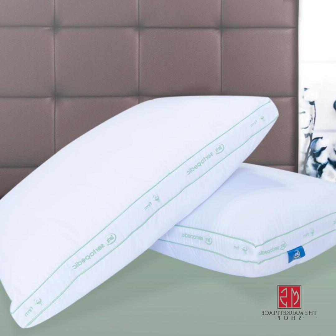 sertapedic firm pillows set of 2 size