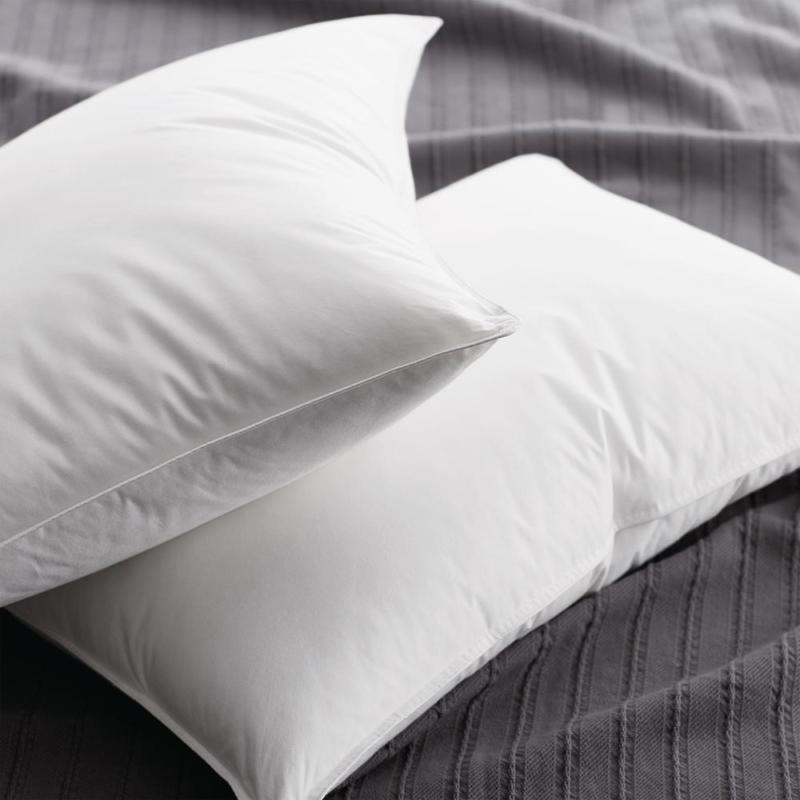 supreme firm down standard pillow