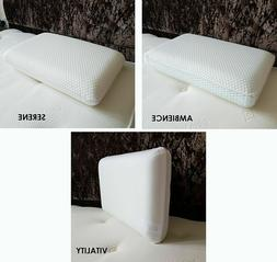 SLEEPSCENE Luxury Memory Foam Pillows Soft and Firm in Boxed