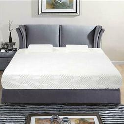 """New Traditional Firm Memory Foam Mattress Bed 10"""" Full Size"""