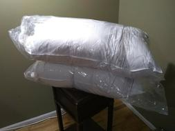 Organic Extra Firm Down Pillow Kings 37oz fill size White