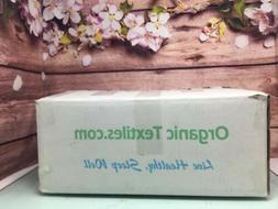 OrganicTextiles Natural Latex Pillow  100% Organic Cotton