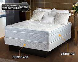 Natures Dream Plush Eurotop  Queen Size Mattress and Box Spr