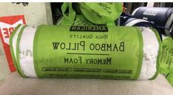 Premium Firm Hypoallergenic Bamboo Shredded Memory Foam Pill