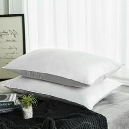 Peace Nest 2 Pack Premium White Down Firm Support Bed Pillow