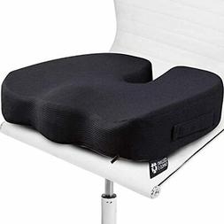 Seat Cushion Pillow For Office Chair - 100% Memory Foam Firm