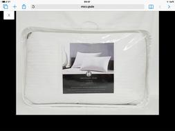 Hotel Collection Siberian White Down Firm Support Pillow Que
