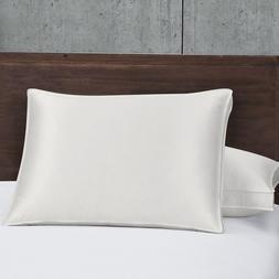Silk Goose Down Pillows 700 Fill Power Firm Support 450 TC 2
