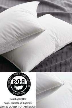 Supreme Medium Down King Pillow Customizable Firmness Level