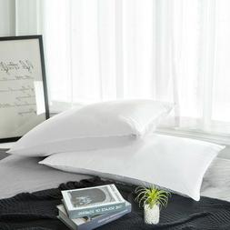 Peace Nest White Duck Down Pillow Set of 2 Soft Bed Pillows